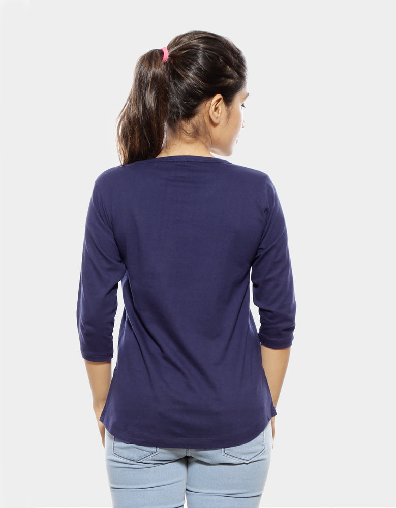 Rules - Navy Blue Cool Women's 3/4 Sleeve T Shirt