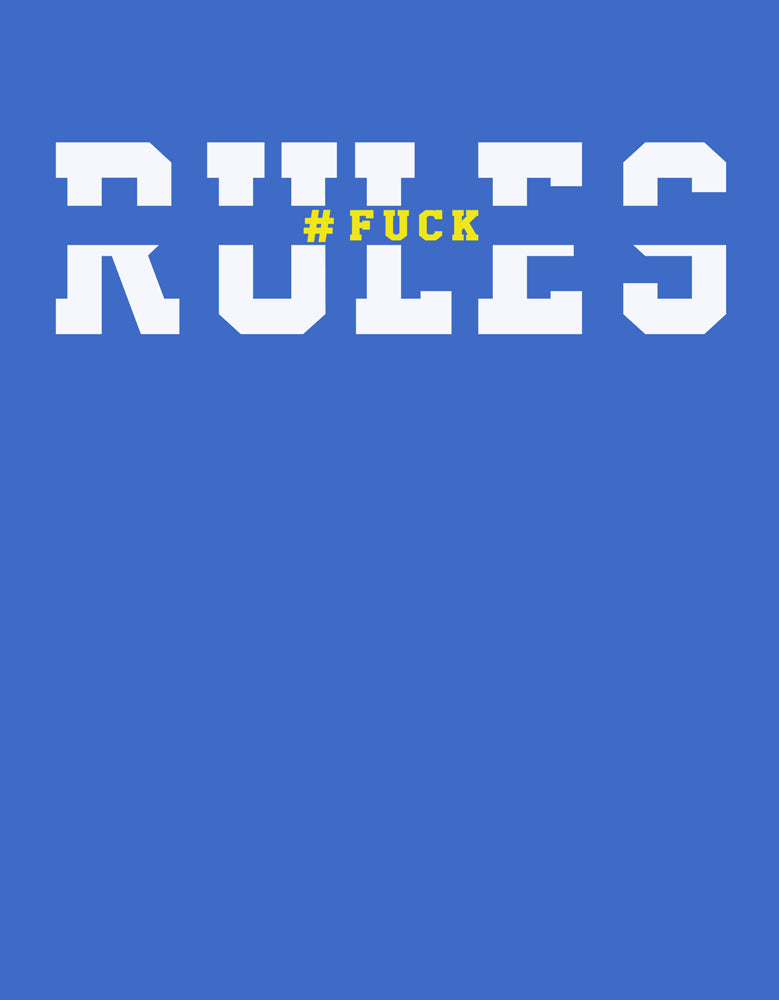 Rules -Royal Blue Design View