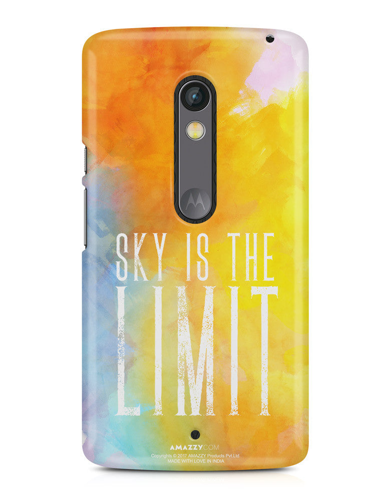 SKY IS THE LIMIT - Moto X Play Phone Cover view