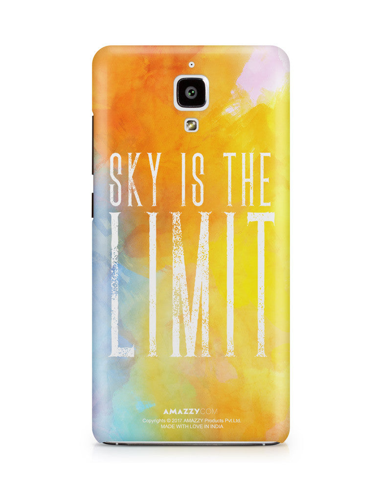 SKY IS THE LIMIT - Xiaomi Mi4 Phone Cover View