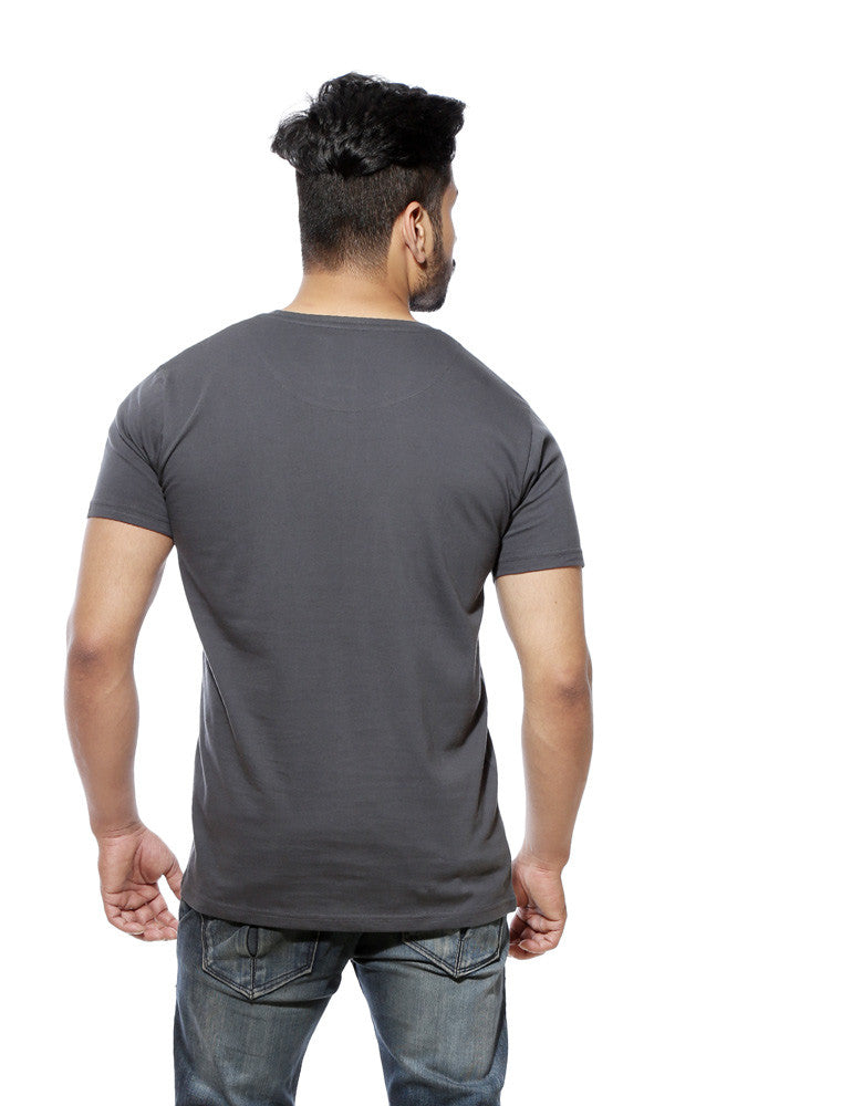 Selfie Leli - Men's Charcoal Grey Tshirt