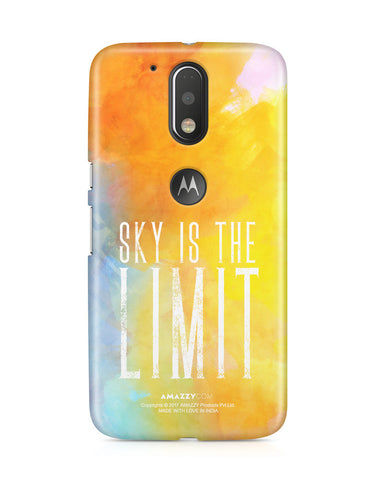 SKY IS THE LIMIT - Moto G4 Plus Phone Cover View
