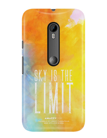 SKY IS THE LIMIT - Moto G3 Phone Cover View