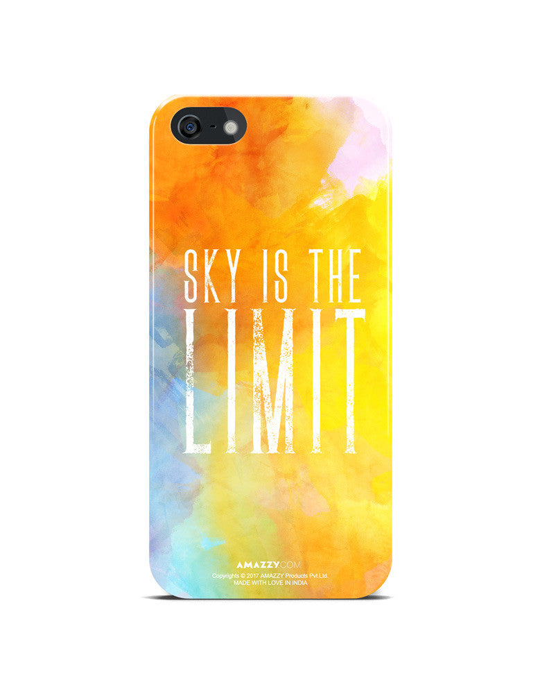 SKY IS THE LIMIT - iPhone 5/5s Phone Cover View