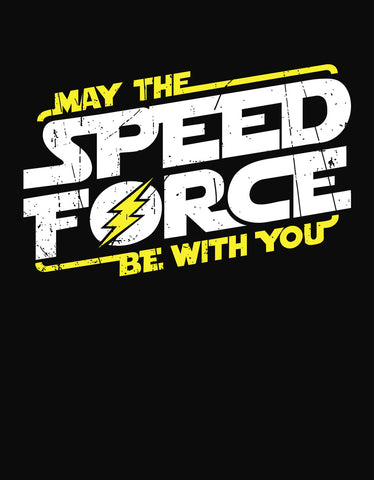 Speed Force - Black Biker Men's Half Sleeve T shirt