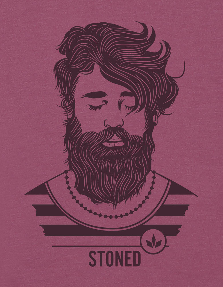 Stoned Hipster -  Men's full sleeve t shirt Design View