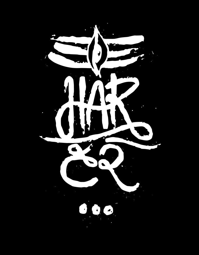 Har Har - Black Men's Sleeveless Cool Vest Design View