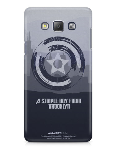 CAPTAIN AMERICA SHIELD - Samsung A7 Phone Cover