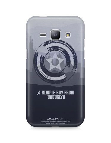 CAPTAIN AMERICA SHIELD - Samsung J1 Phone Cover