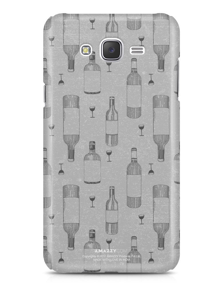 WINE DOODLE - Samsung J7 Phone Cover
