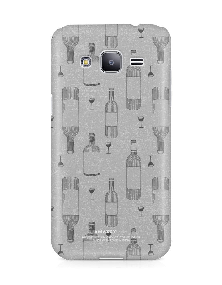 WINE DOODLE - Samsung J3 Phone Cover