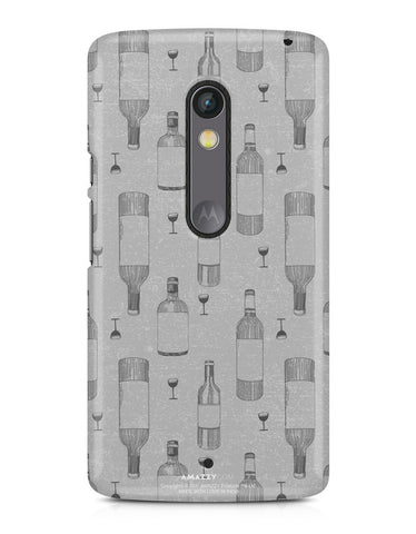 WINE DOODLE - Moto X Play Phone Cover