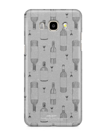 WINE DOODLE - Samsung J5 (2016) Phone Covers