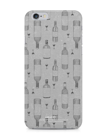 WINE DOODLE - iPhone 6/6s Phone Cover