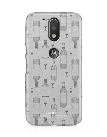 WINE DOODLE - Moto G4 Plus Phone Cover View