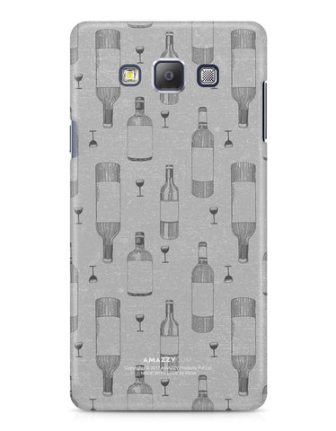 WINE DOODLE - Samsung A7 Phone Cover