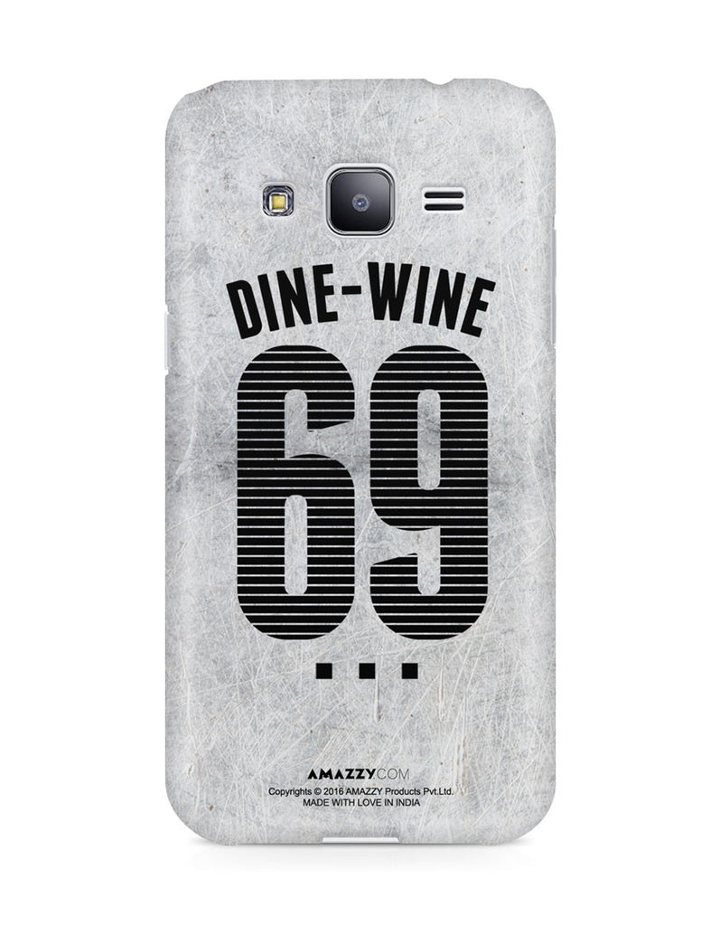 DINE-WINE 69 - Samsung J3 Phone Cover