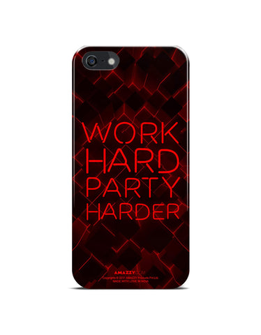 WORK HARD PARTY HARDER - iPhone 5/5s Phone Cover