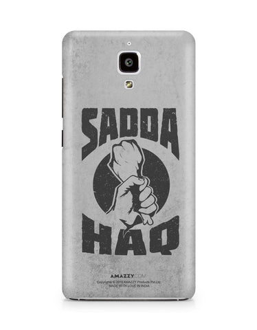SADDA HAQ - Xiaomi Mi4 Phone Cover