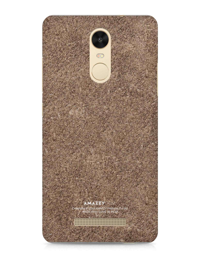 Bronze Leather Texture - Xiaomi Redmi Note3 Phone Cover View