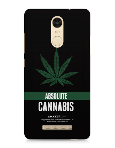 ABSOLUTE CANNABIS - Xiaomi Redmi Note3 Phone Cover View
