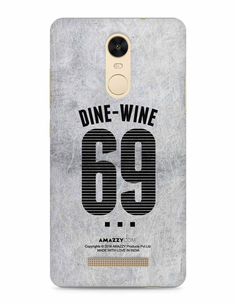DINE-WINE-69 - Xiaomi Redmi Note3 Phone Covers View