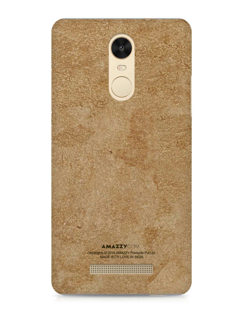 Gold Leather Texture - Xiaomi Redmi Note3 Phone Cover View