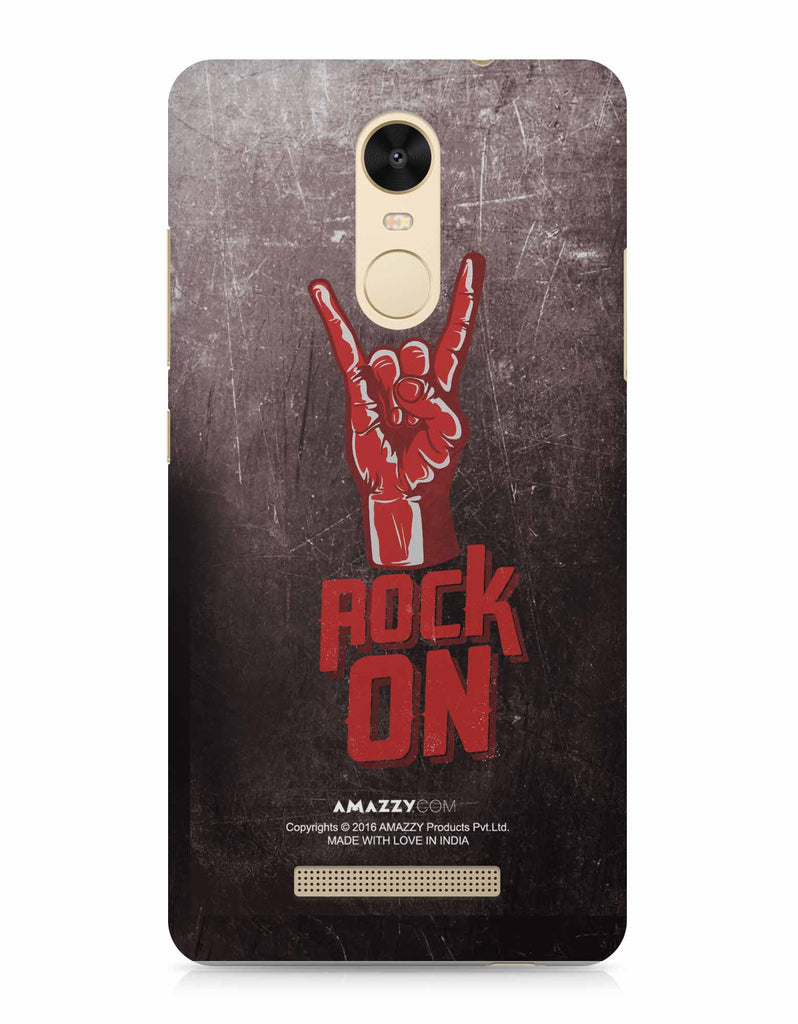 ROCK ON - Xiaomi Redmi Note3 Phone Covers View