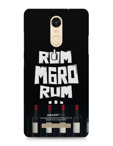 RUM MARO RUM - Xiaomi Redmi Note3 Phone Covers View
