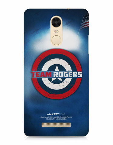 TEAM ROGERS - Xiaomi Redmi Note3 Phone Covers View