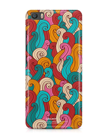 ABSTRACT CURLS - Xiaomi Mi5 Phone Cover