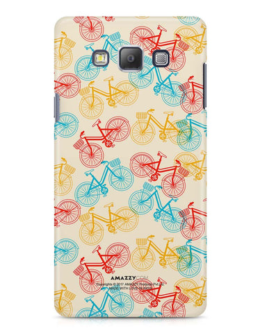 BICYCLE - Samsung A7 Phone Cover