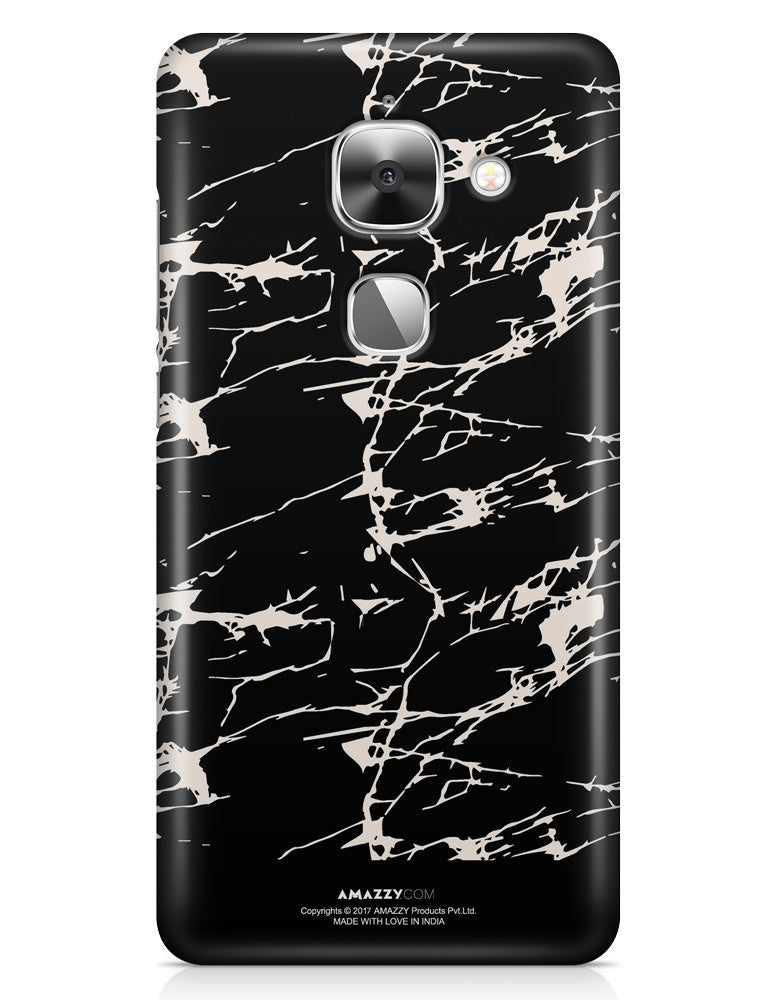 BLACK MARBLE - LeEco Le 2S Phone Cover
