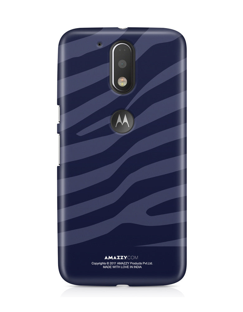 ZEBRA STRIPES - Moto G4 Plus Phone Cover View