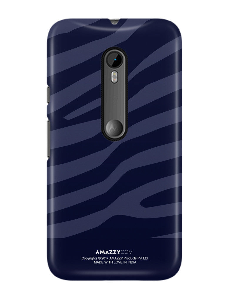 ZEBRA STRIPES - Moto G3 Phone Cover View