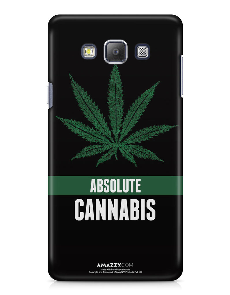ABSOLUTE CANNABIS - Samsung A7 Phone Cover