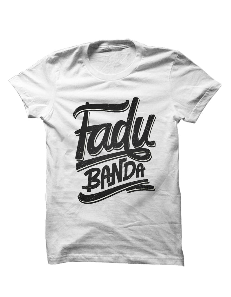 Fadu Banda - White Men's Half Sleeve Cool T Shirt View