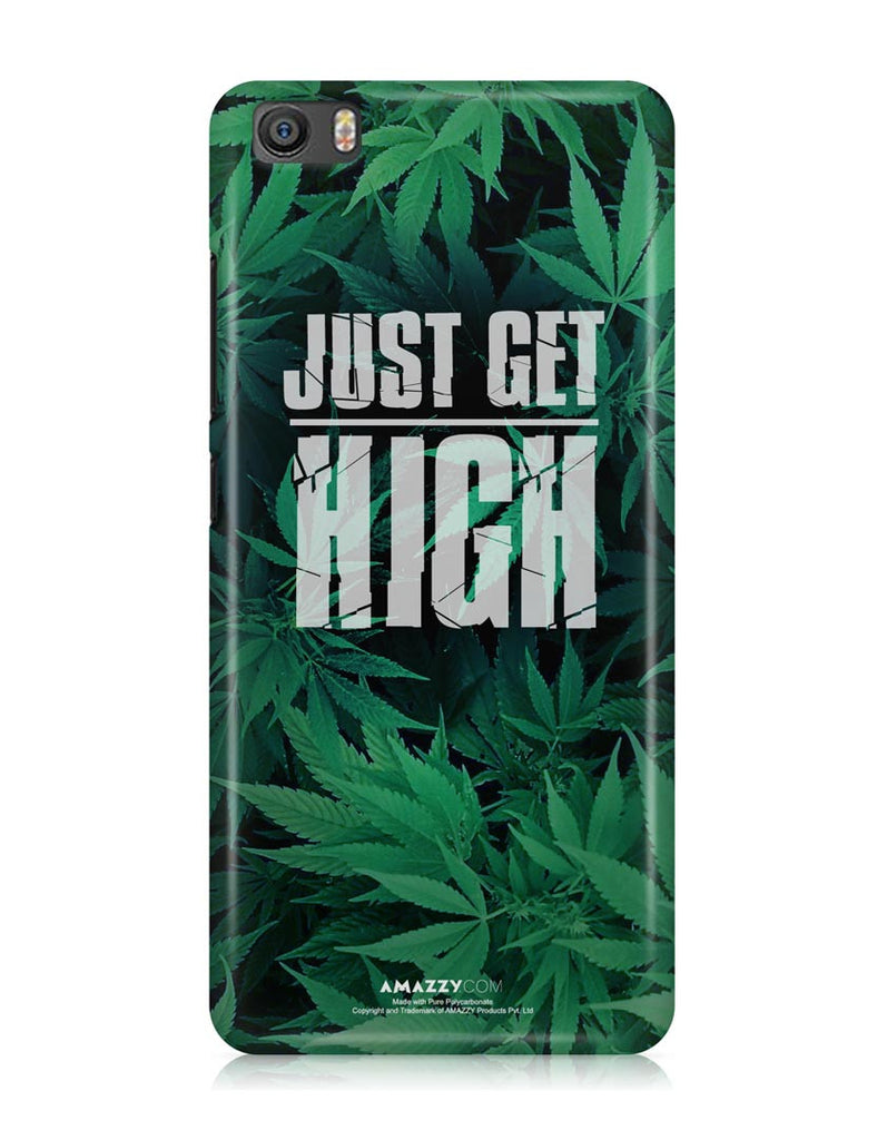 JUST GET HIGH - Xiaomi Mi5 Phone Cover View