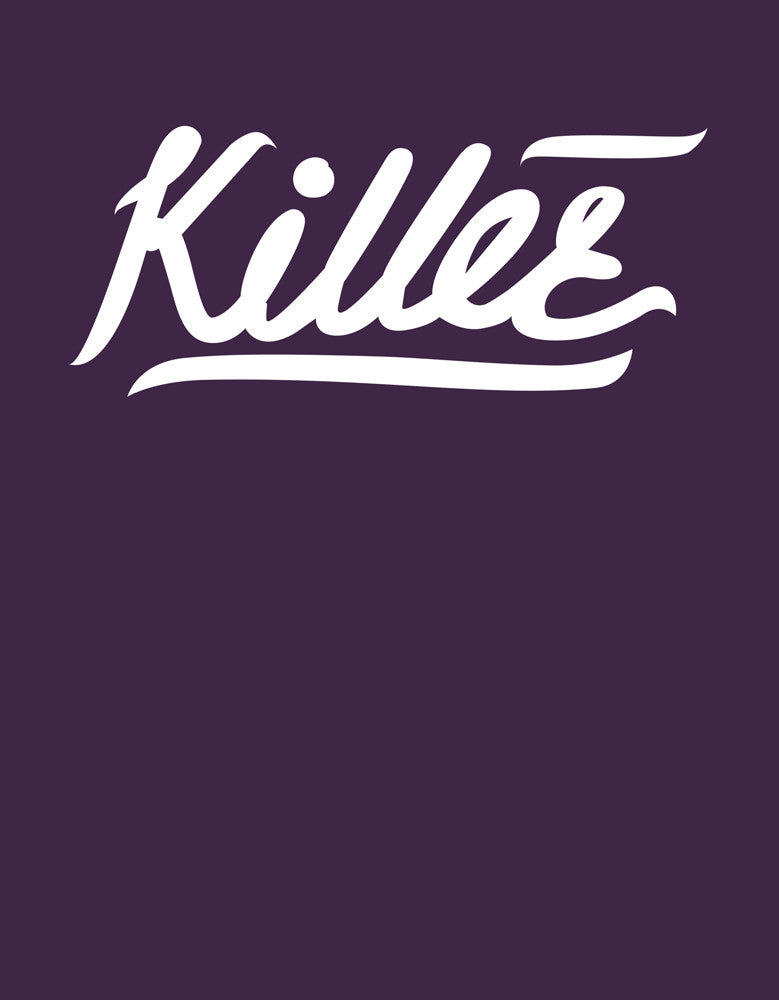 Killer - Brinjal Women's 3/4 Sleeve Trendy T Shirt Design View