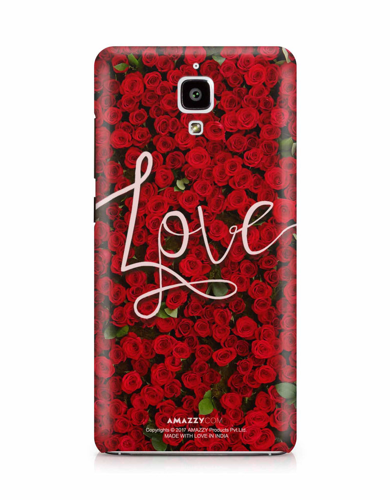 LOVE - Xiaomi Mi4 Phone Cover View