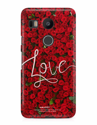 LOVE - Nexus 5x Phone Cover