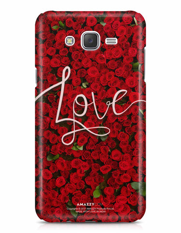 LOVE - Samsung J7 Phone Cover