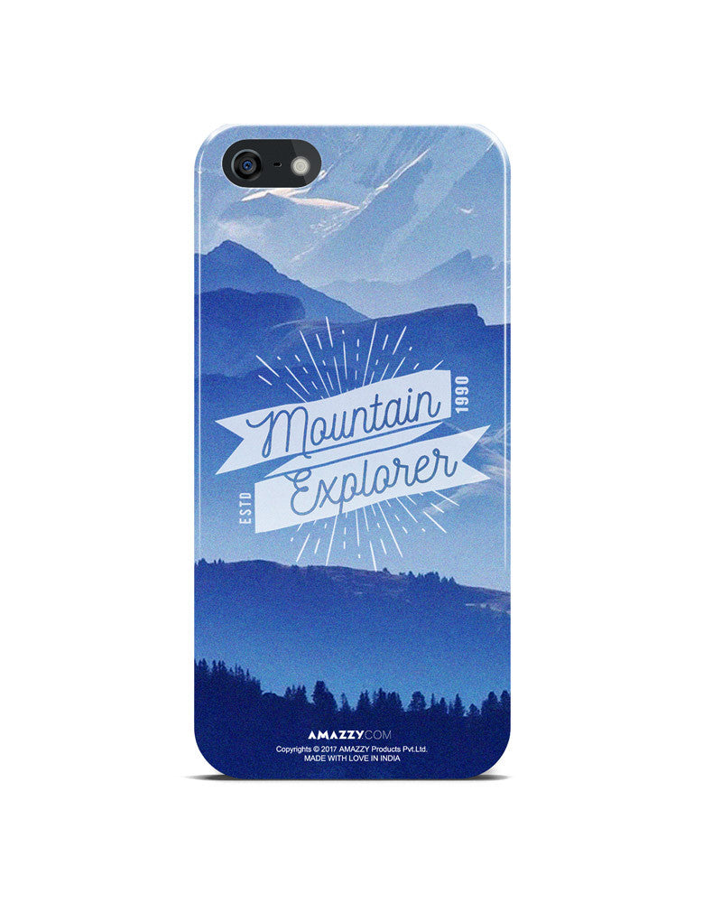 MOUNTAIN EXPLORER - iPhone 5/5s Phone Cover View