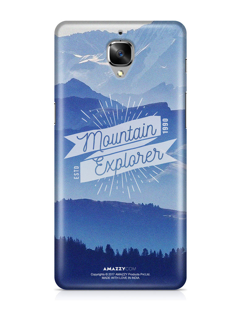 MOUNTAIN EXPLORER - OnePlus 3 Phone Cover