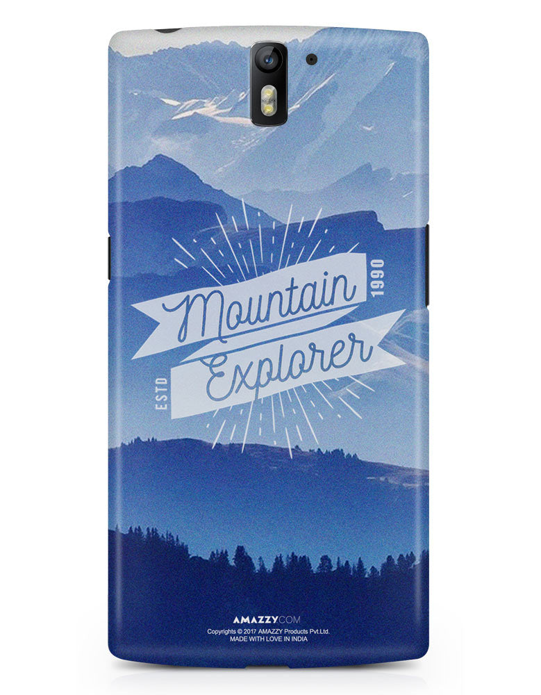 MOUNTAIN EXPLORER - OnePlus 1 Phone Cover