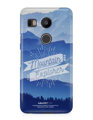 MOUNTAIN EXPLORER - Nexus 5x Phone Cover