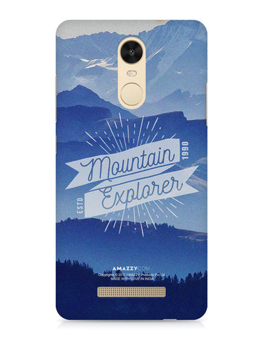 MOUNTAIN EXPLORER - Xiaomi Redmi Note3 Phone Cover View