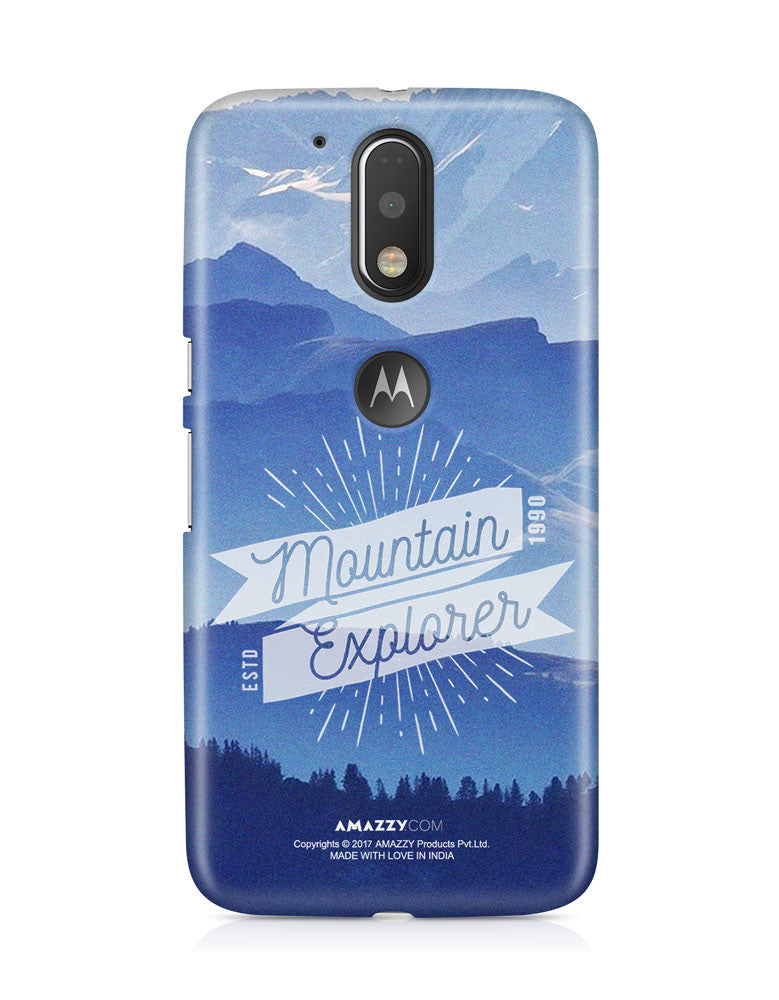 MOUNTAIN EXPLORER - Moto G4 Plus Phone Cover View