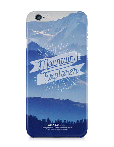 MOUNTAIN EXPLORER - iPhone 6+/6s+ Phone Covers