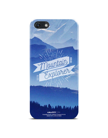 MOUNTAIN EXPLORER - iPhone 5/5s Phone Cover